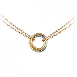 Cartier Trinity 3-gold necklace replica B7218200