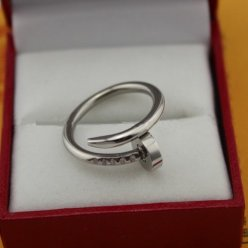 Cartier Juste un Clou ring white gold B4099200