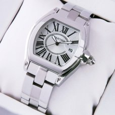 Cartier Roadste silver dial replica watch for women