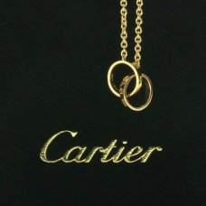 Cartier Love chain necklace yellow gold B7212400