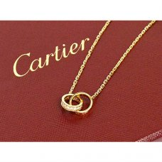 Cartier Love necklace yellow gold diamond B7013800