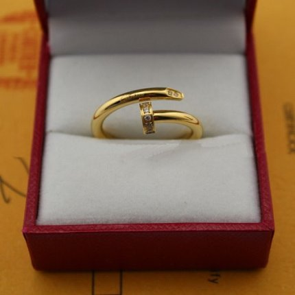 Cartier Juste un Clou ring diamond yellow gold