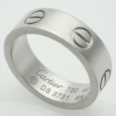 Cartier Love ring B4084700 white gold