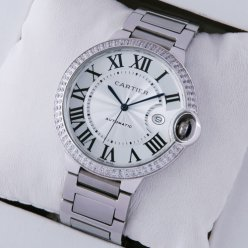 Ballon Bleu de Cartier WE9009Z3 large watch stainless steel