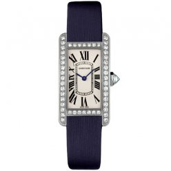 Cartier Tank Americaine diamond watch for women WB707331