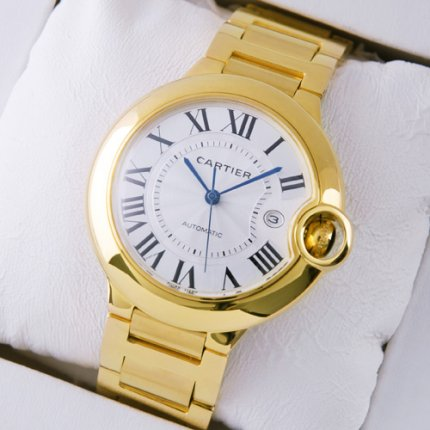 Ballon Bleu de Cartier W69005Z2 large watch 18K yellow gold