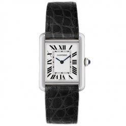 Cartier Tank Solo women watch replica W5200005 stainless steel