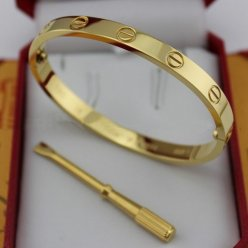 Cartier Love Bracelet imitation yellow gold B6035516