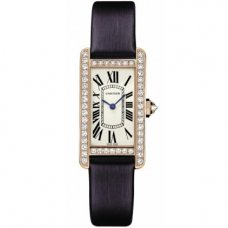 Cartier Tank Americaine watch for women WB707931 pink gold