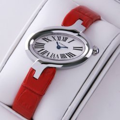 Cartier Delices replica watches for women stainless steel
