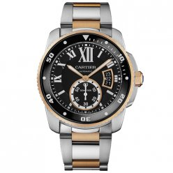 Calibre de Cartier Diver replica watch W7100054 two-tone