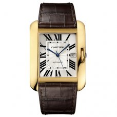 Cartier Tank Anglaise watch for men W5310032 18K yellow gold