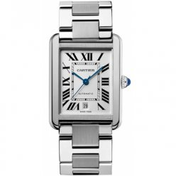 Cartier Tank Solo mens watch replica W5200028 stainless steel