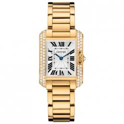 Cartier Tank Anglaise women WT100005 18K yellow gold
