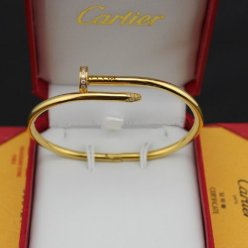 Cartier Juste un Clou bracelet diamond yellow gold
