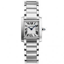 Cartier Tank Francaise steel watch replica W51011Q3