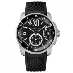 Calibre de Cartier Diver replica watch W7100056 steel