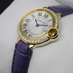 Ballon Bleu de Cartier small swiss quartz watch yellow gold