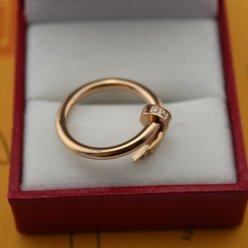 Cartier Juste un Clou ring pink gold B4094800 with diamonds