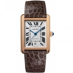 Cartier Tank Solo mens watch W5200026 18K yellow gold