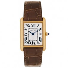 Cartier Tank Louis 18K yellow gold mens watch replica W1529756
