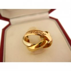 Trinity de Cartier ring replica B4086100