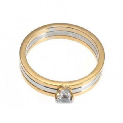 Trinity de Cartier diamond ring replica N4204200