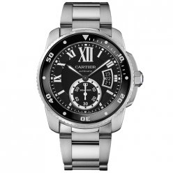 Calibre de Cartier Diver replica watch W7100057 stainless steel