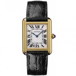 Cartier Tank Solo watch women W5200002 18K yellow gold