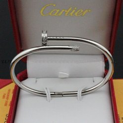 Cartier Juste un Clou bracelet white gold B6037915 diamond