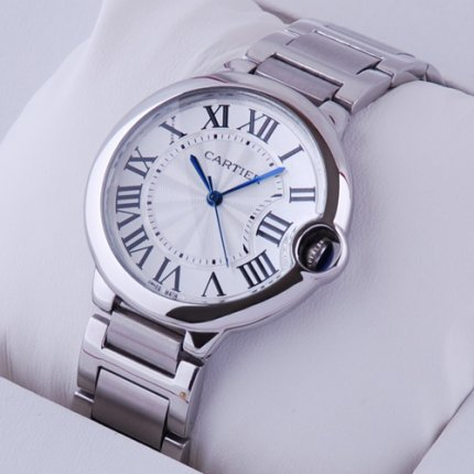 Ballon Bleu de Cartier quartz watch W69011Z4 stainless steel