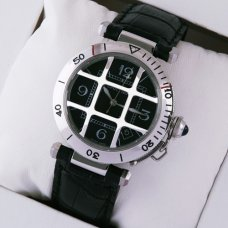 Pasha de Cartier cage design swiss watches for men