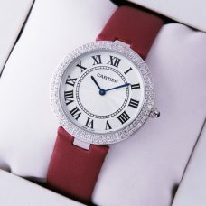 Cartier Ronde Solo diamond watch fake for women