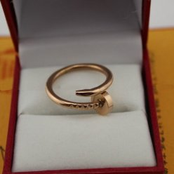 Cartier Juste un Clou ring pink gold B4092500