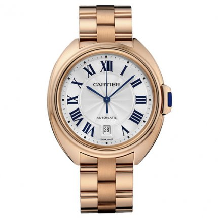 Clé de Cartier 40mm pink gold watches for men WGCL0002