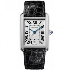 Cartier Tank Solo mens watch W5200027 stainless steel