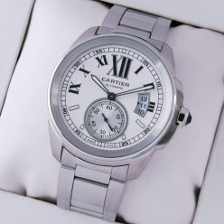 Calibre de Cartier automatic watch replica W7100015 stainless steel