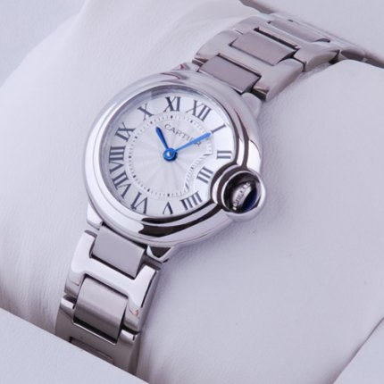 Ballon Bleu de Cartier quartz watch stainless steel