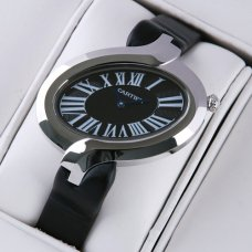 Cartier Delices replica watch for women black dial
