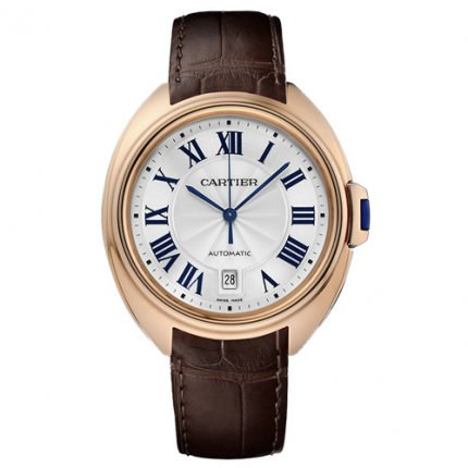 Clé de Cartier 40mm pink gold WGCL0004 mens watches