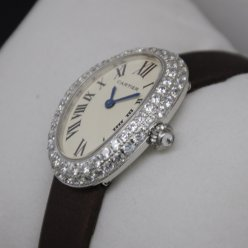 Cartier Baignoire replica swiss diamond watch for women