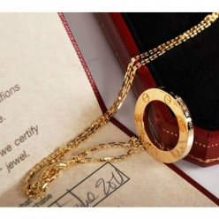 Cartier Love necklace yellow gold B7014200