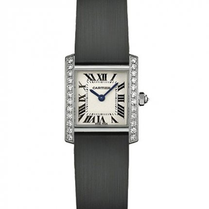 Cartier Tank Francaise women watch WE100231 steel