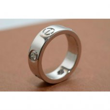 Cartier Love Ring Weißgold B4032500 Diamanten