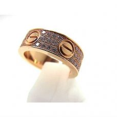 Cartier Love Ring Rotgold Diamanten B4087600