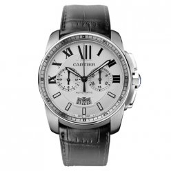 Calibre de Cartier Chronograph Replik Uhr W7100046