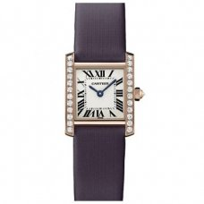 Cartier Tank Francaise Diamant Uhr WE104531 Rotgold