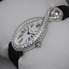 Cartier Baignoire Swiss Diamond Damen uhr Replik