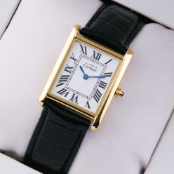 Must de Cartier Vermeil suisse 18K montre or jaune
