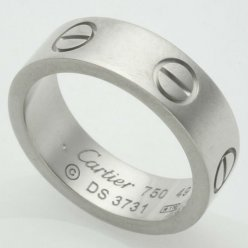 bague Cartier love B4084700 en or blanc